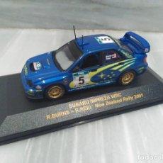 Coches a escala: SUBARU IMPREZA WRC R.BURNS - R.REID NEW ZEALAND RALLY 2001 - RALLY CAR 1/43. Lote 71726067