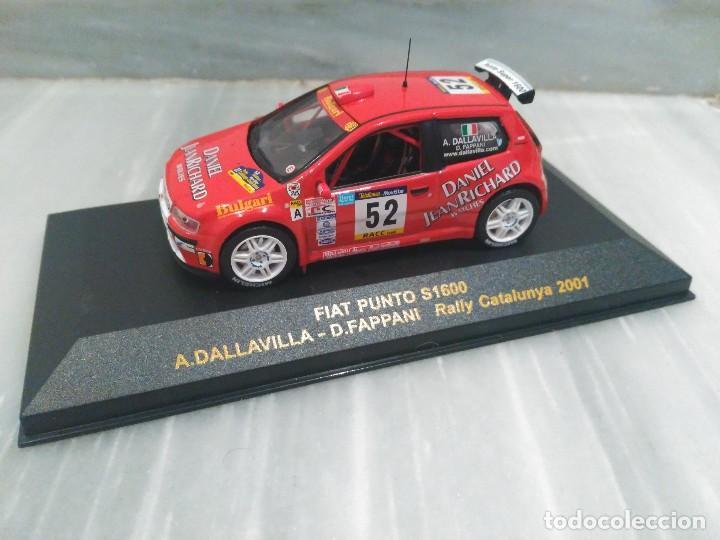 FIAT PUNTO S1600 - A.DALLAVILLA - D.FAPPANI - RALLY CATALUNYA 2001 - RALLY CAR 1/43 (Juguetes - Coches a Escala 1:43 Otras Marcas)