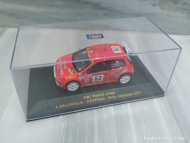 Coches a escala: FIAT PUNTO S1600 - A.DALLAVILLA - D.FAPPANI - RALLY CATALUNYA 2001 - RALLY CAR 1/43 - Foto 3 - 71727715
