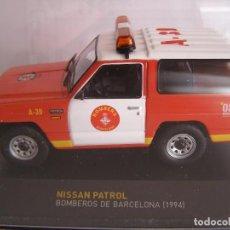 Coches a escala: NISSAN PATROL DE BOMBEROS DE BARCELONA DEL AÑO 1994,TEST COCHES DE SERVICIOS ALTAYA .. Lote 107591356
