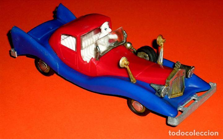Coches a escala: Auto Tío Gilito Paperone Disney, Made in Singapour, Mandarín, Politoys Jye copy, original años 60-70 - Foto 2 - 72166338