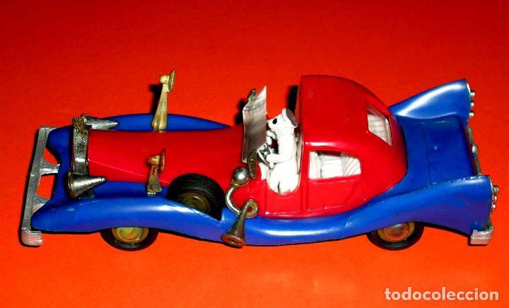 Coches a escala: Auto Tío Gilito Paperone Disney, Made in Singapour, Mandarín, Politoys Jye copy, original años 60-70 - Foto 5 - 72166338
