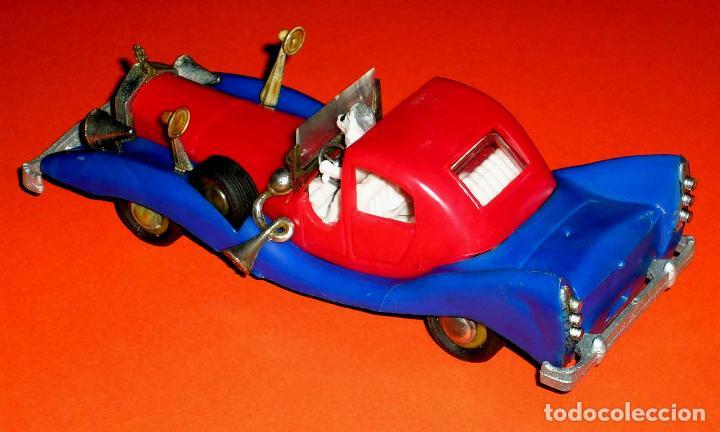 Coches a escala: Auto Tío Gilito Paperone Disney, Made in Singapour, Mandarín, Politoys Jye copy, original años 60-70 - Foto 6 - 72166338
