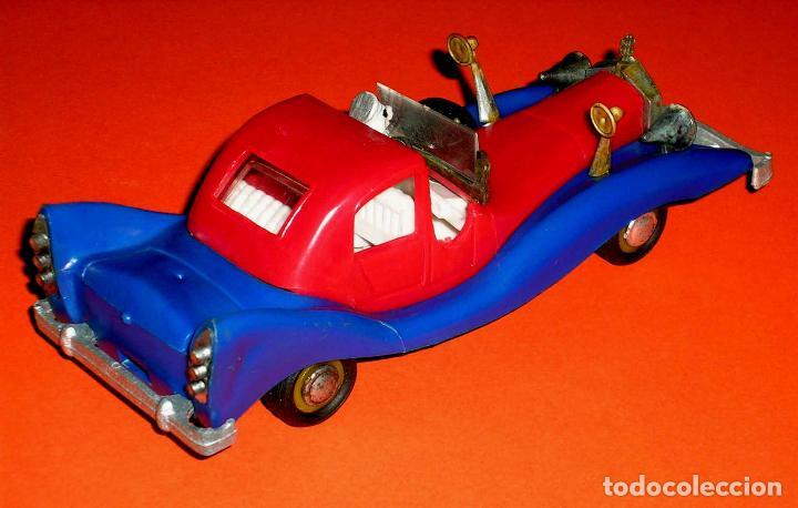 Coches a escala: Auto Tío Gilito Paperone Disney, Made in Singapour, Mandarín, Politoys Jye copy, original años 60-70 - Foto 7 - 72166338