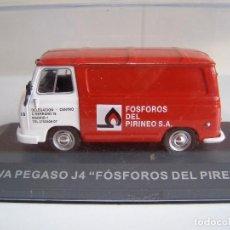 Coches a escala: SAVA PEGASO J4 FOSFOROS DEL PIRINEO, COLECCION FURGONETAS DE PUBLICIDAD, ESCALA 1/43, ALTAYA.. Lote 115477408