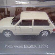 Coches a escala: VOLKSWAGEN BRASILIA DE 1964, COLECION DE COCHES DE MEXICO, ESCALA 1/43, ALTAYA.. Lote 95088462