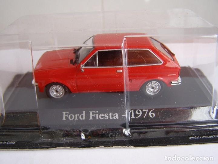 FORD FIESTA MK1 ROJO DE 1976, ESCALA 1/43, COLECCION RBA, ALTAYA.. (Juguetes - Coches a Escala 1:43 Otras Marcas)