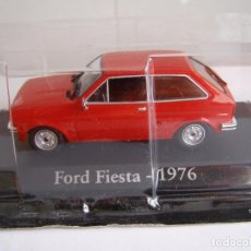 Coches a escala: FORD FIESTA MK1 ROJO DE 1976, ESCALA 1/43, COLECCION RBA, ALTAYA... Lote 214082997