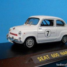 Coches a escala: SEAT 600 NARDI 1965--1/43--SOLIDO --LUGOY. Lote 74343123