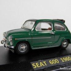 Coches a escala: SEAT 600 1960--1/43--SOLIDO --LUGOY. Lote 74346119