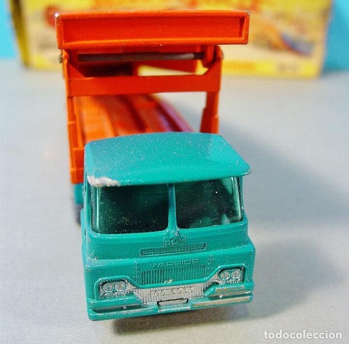 Coches a escala: MATCHBOX CAR TRANSPORTER. M-8. CAJA ORIGINAL MADE IN ENGLAND. - Foto 2 - 74787631