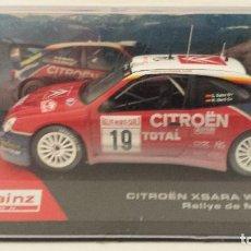 Coches a escala: 1/43 RAL131 CITROEN XSARA WRC RALLY DE MONTE CARLO 2003 CARLOS SAINZ. Lote 75230267