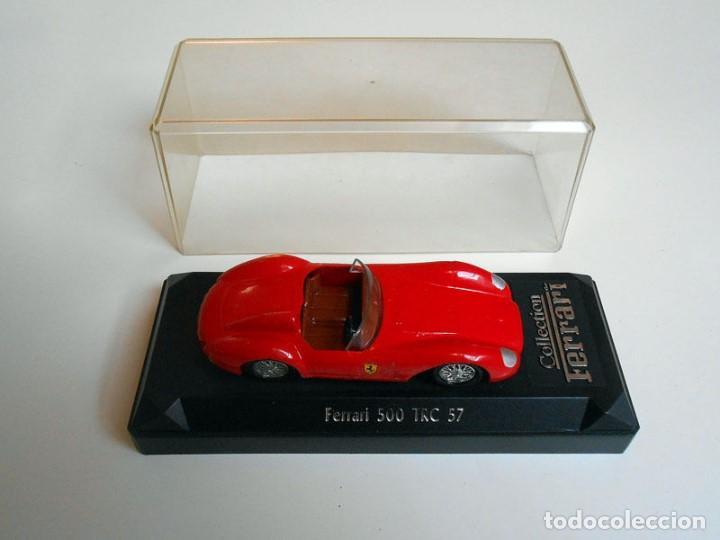 1079 Coche Ferrari 500 Trc 57 Metal Model Car 1 Kaufen Modellautos