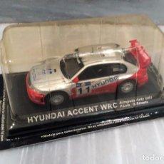 Voitures à l'échelle: COCHE HYUNDAI ACCENT WRC RALLY ACROPOLIS 2003 - 1/43 - ALTAYA. Lote 76893927