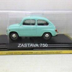 Coches a escala: 1/43 COCHE ZASTAVA 750 METAL MODEL CAR 1/43 1:43 SEAT 600 RUSO FIAT MINIATURE. Lote 180035852