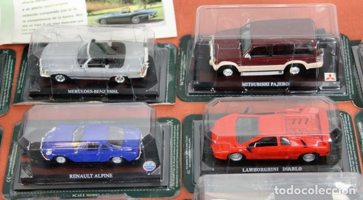 colecci u00f3n de 50 car collection  metal  edicione - vendido en subasta