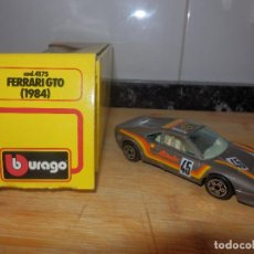 Coches a escala: BURAGO 1/43 FERRARI GTO 1984 . Lote 81929616