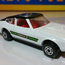 Coches a escala: MATCHBOX FORD CAPRI II K-59 1976 MADE IN ENGLAND. Lote 83784224