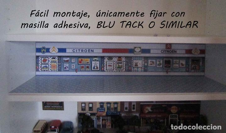 Coches a escala: DIORAMA 1/43 MUSEO CITROEN, Mod.2 (Especial vitrina Billy de Ikea) - Foto 9 - 110010172