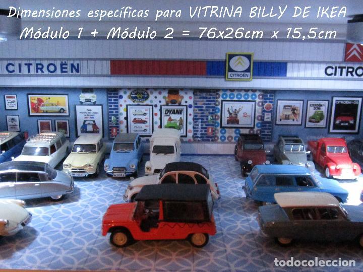 Coches a escala: DIORAMA 1/43 MUSEO CITROEN, Mod.2 (Especial vitrina Billy de Ikea) - Foto 10 - 110010172