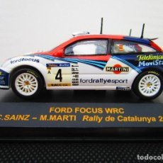 Coches a escala: FORD FOCUS WRC - C. SAINZ - M. MARTI - RALLY DE CATALUNYA 2002. Lote 87082324