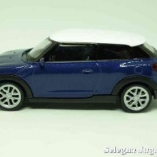 Coches a escala: MINI COOPER S PACEMAN ESCALA 1/43 WELLY. Lote 89031687