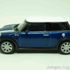 Coches a escala: MINI COOPER S (AZUL) ESCALA 1/43 WELLY. Lote 89031691