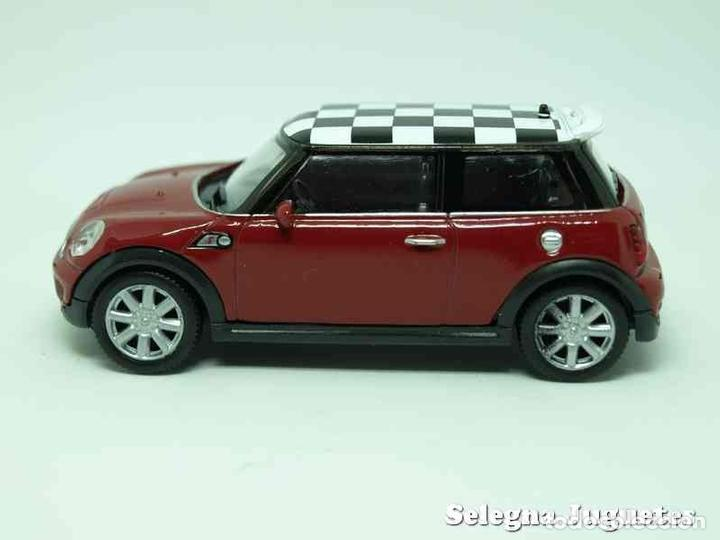 Coches a escala: Mini cooper S (rojo) escala 1/43 Welly - Foto 1 - 89031695