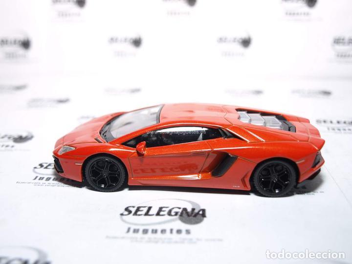 lamborghini aventador lp700-4 rojo escala 1/43 - kaufen modellautos