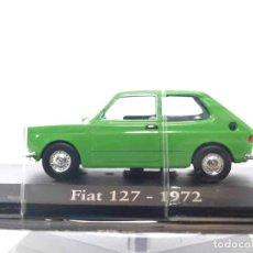 Coches a escala: FIAT 127 1972 ESCALA 1/43 IXO - RBA - CLáSICOS INOLVIDABLES COCHE METAL MINIATURA. Lote 89032004