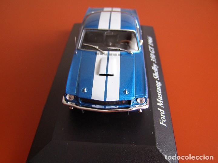 Coches a escala: FORD MUSTANG SHELBY 350 GT DE 1966, EDICIONES ATLAS , COLECCIÓN SUIZA, ESCALA 1/43 - Foto 2 - 120822531