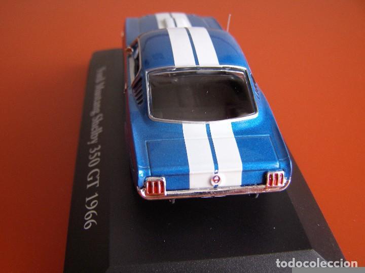 Coches a escala: FORD MUSTANG SHELBY 350 GT DE 1966, EDICIONES ATLAS , COLECCIÓN SUIZA, ESCALA 1/43 - Foto 3 - 120822531