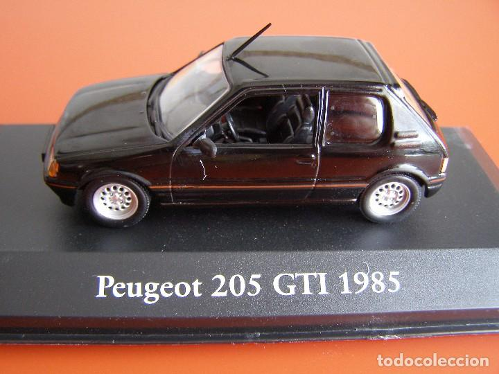 PEUGEOT 205 GTI DE 1985, EDICIONES ATLAS , COLECCIÓN SUIZA, ESCALA 1/43 (Juguetes - Coches a Escala 1:43 Otras Marcas)