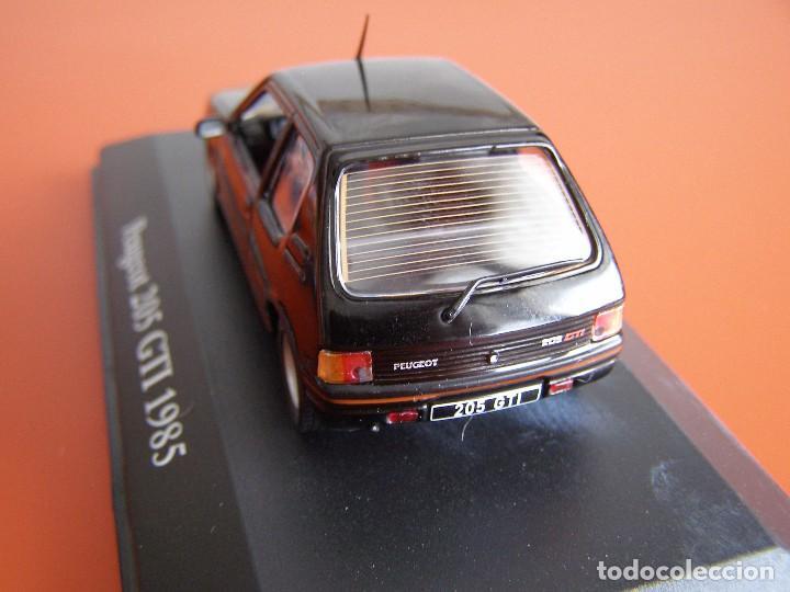 Coches a escala: PEUGEOT 205 GTI DE 1985, EDICIONES ATLAS , COLECCIÓN SUIZA, ESCALA 1/43 - Foto 3 - 89537048