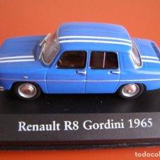 Coches a escala: RENAULT R8 GORDINI DE 1965, EDICIONES ATLAS , COLECCIÓN SUIZA, ESCALA 1/43. Lote 89050064