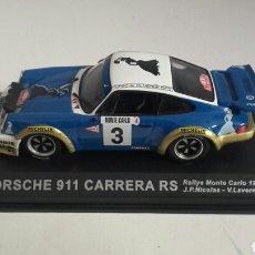 Coches a escala: COCHE PORSCHE 911 CARRERA RS RALLY MONTECARLO 1978 ALTAYA 1/43. Lote 89385855