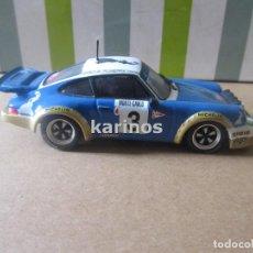Coches a escala: PORSCHE 911 CARRERA RS RALLY MONTECARLO 1978 J.P. NICOLAS (ALTAYA) (SIN CAJA). Lote 90005396