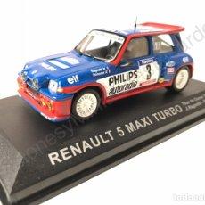 Model Cars - Renault 5 Maxi Turbo (Tour de Corse) Ragnotti 1:43 Rally France - 143623553