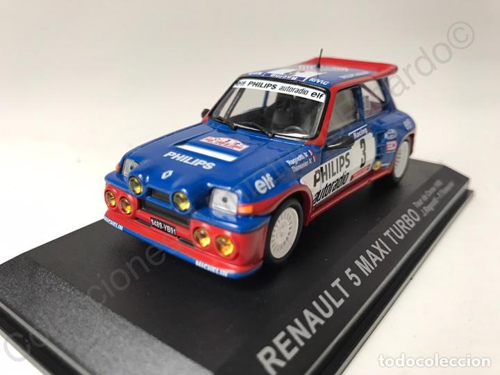Coches a escala: Renault 5 Maxi Turbo (Tour de Corse) Ragnotti 1:43 Rally France - Foto 2 - 143623553