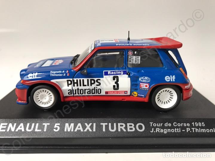 Coches a escala: Renault 5 Maxi Turbo (Tour de Corse) Ragnotti 1:43 Rally France - Foto 4 - 143623553