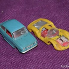 Coches a escala: LOTE DE DOS COCHES NACORAL CHIQUI CARS - PORSCHE CARRRERA / SEAT 850 - 1:43 - - HAZ OFERTA. Lote 90412454