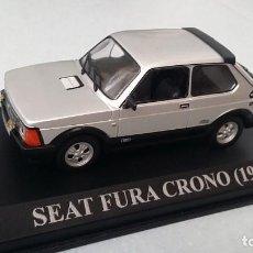 Voitures à l'échelle: SEAT FURA CRONO 1982 IXO ALTAYA ESCALA 1/43. NUEVO CON SU CAJA.. Lote 90725620