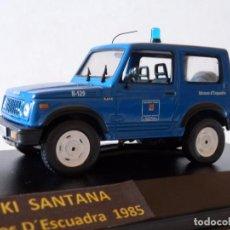 Coches a escala: SUZUKI SANTANA MOSSOS D´ESCUADRA 1985--1/43-ALTAYA- --LUGOY. Lote 91167555