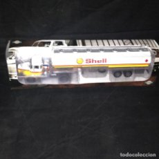 Coches a escala: CAMION BERLIET TLR 12 CISTERNA SHELL - IXO ALTAYA 1/43 - TRAILER. Lote 91222595