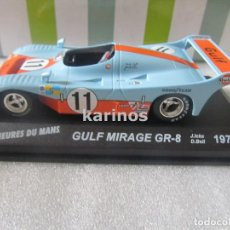 Coches a escala - GULF MIRAGE GR-8. LE MANS 1975. J. ICKX - D. BELL - 91370605