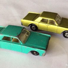 Coches a escala: LINCOLN CONTINENTAL MATCHBOX 31 MADE IN ENGLAND BY LESNEY,IDEAL COLECCIONISTAS. Lote 92195550
