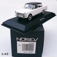 Coches a escala: NOREV SEAT 1400 C. Lote 56089205
