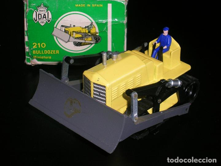 Coches a escala: Bulldozer Massey Harris ref. 210 fabricado en metal, esc. aprox. 1/43, Joal años 70. A estrenar. - Foto 3 - 93175738