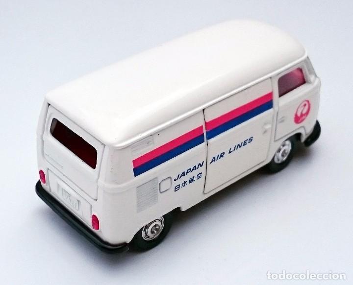 Coches a escala: TOMICA DANDY KADO VOLKSWAGEN VW COMBI JAPAN AIRLINES - Foto 5 - 93917625