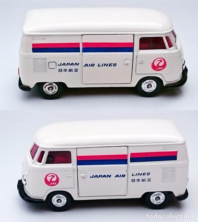 Coches a escala: TOMICA DANDY KADO VOLKSWAGEN VW COMBI JAPAN AIRLINES - Foto 6 - 93917625